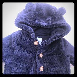 Baby Gap Bear Sherpa Jacket 3-6 M